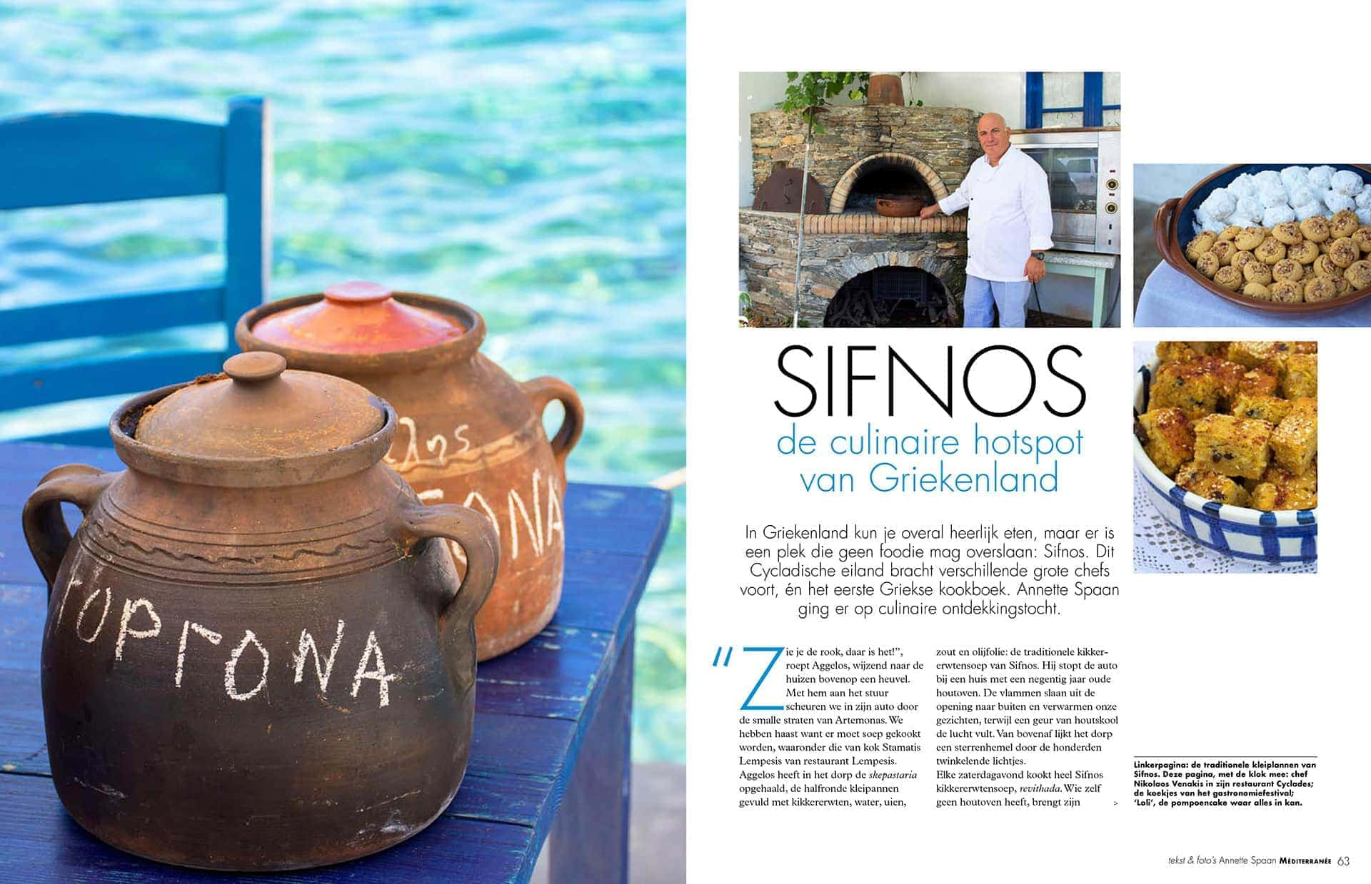 Reisreportage Sifnos Cycladen Griekenland